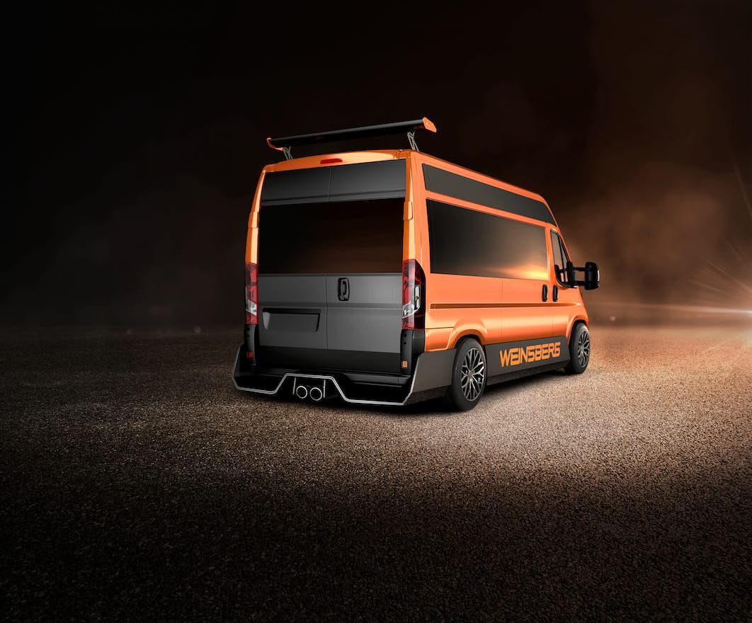 custom campervan -weinsberg back