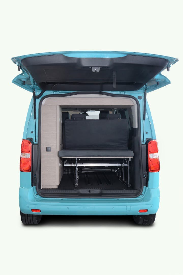 compact camper - boot