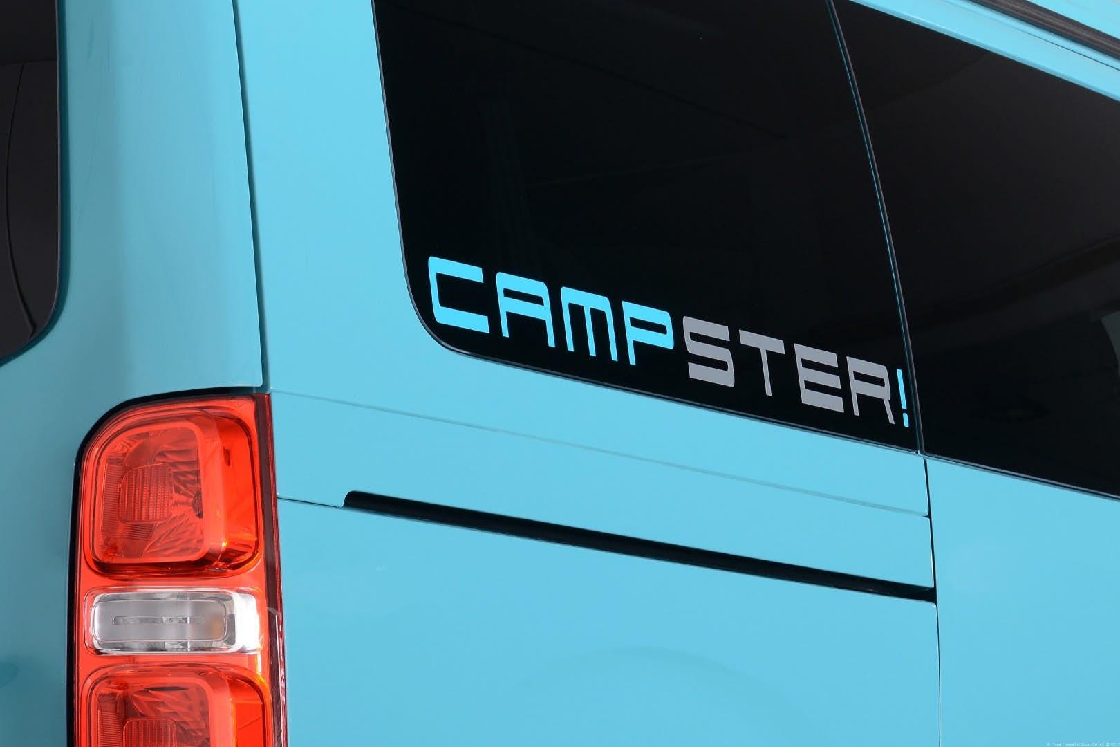 compact camper - campsite logo