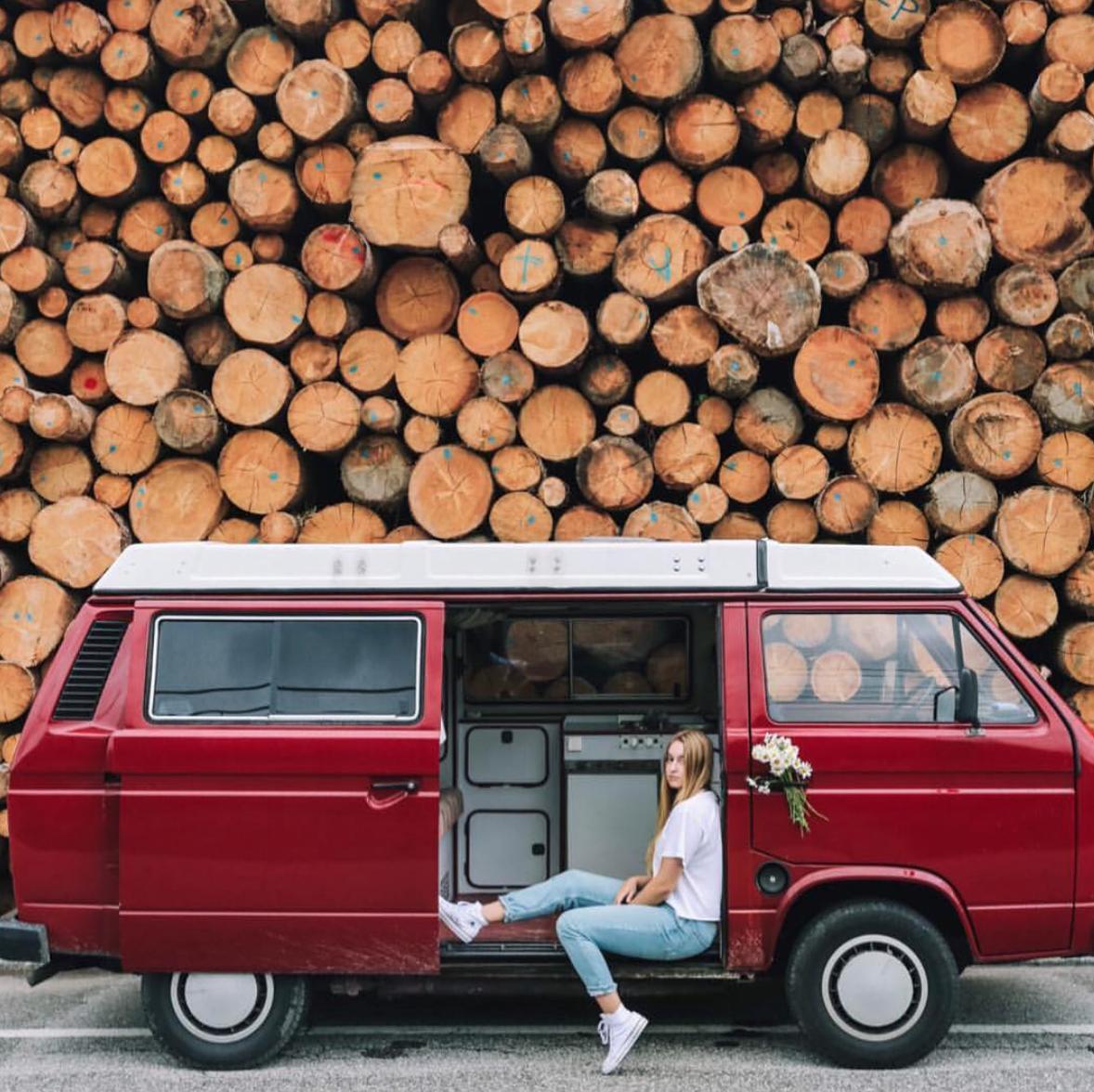 Van Life Instagram - Frauki