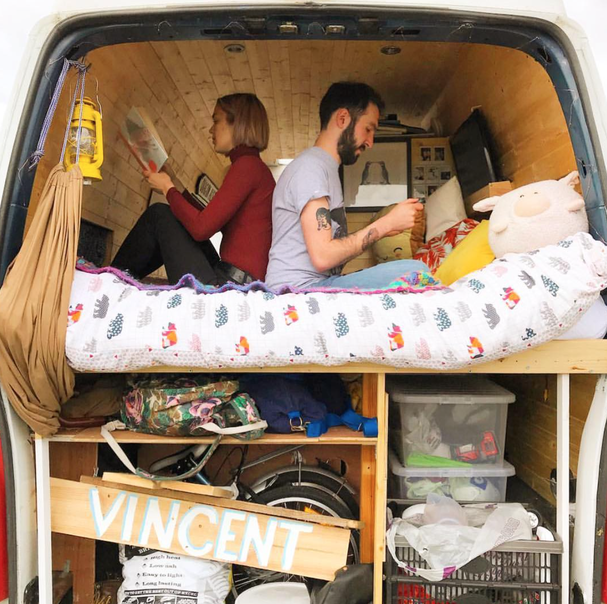 Living the van life - personal space