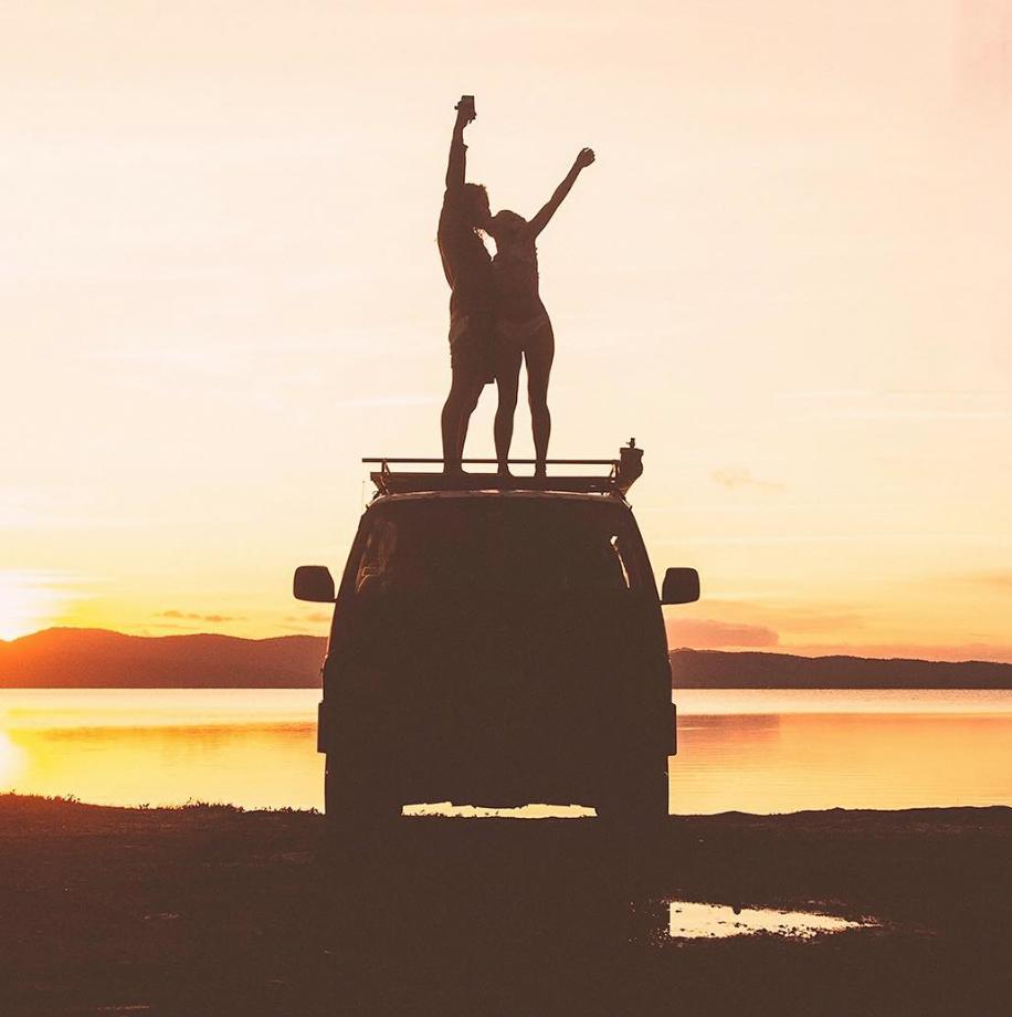 Van Life Instagram - Mitch cox