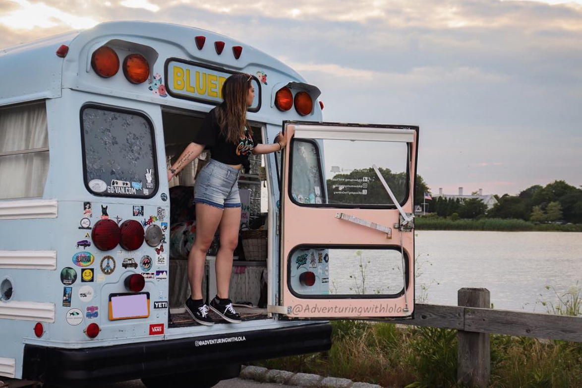 Van Life Instagram - adventuring with lola