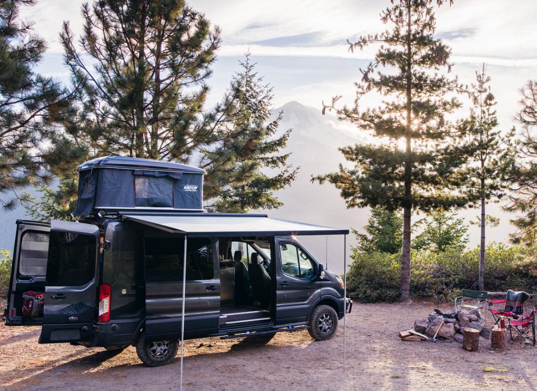 Van Life Instagram - Outside Van