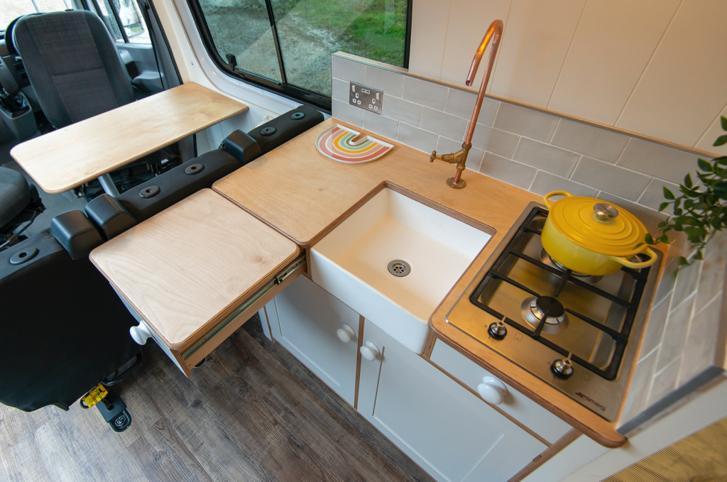 camper conversions - Jubel kitchen