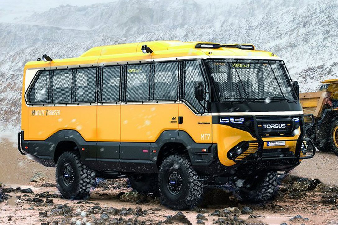 off road bus - torsus pit
