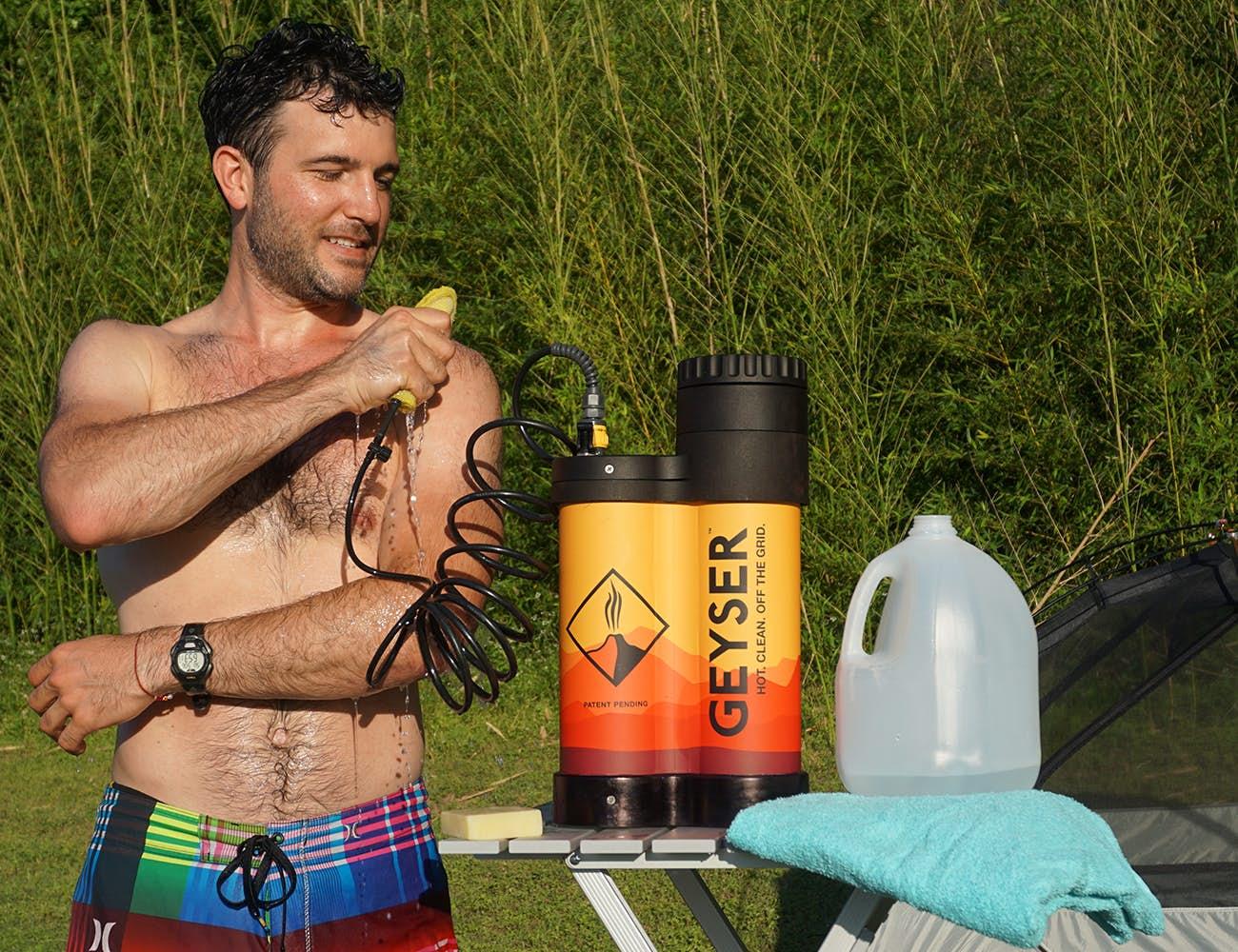 Camper Shower - Geyser