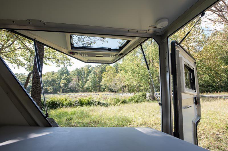 camper trailer - outside