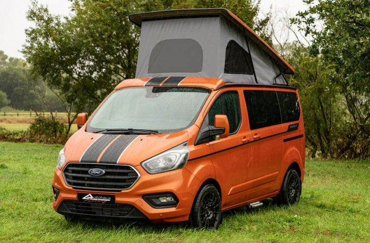 d145a9b6d1 The Custom Ford Transit Campervan Built For Weekend Warriors