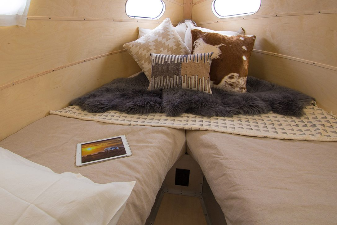 All Terrain Camper - bed