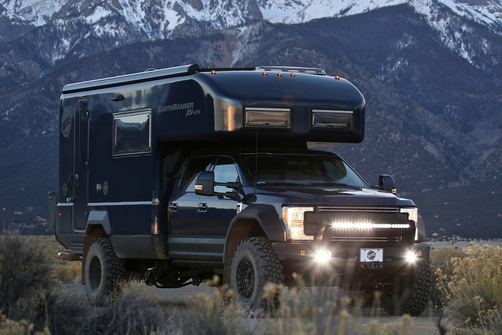 ford campers - Ford Earthroamer