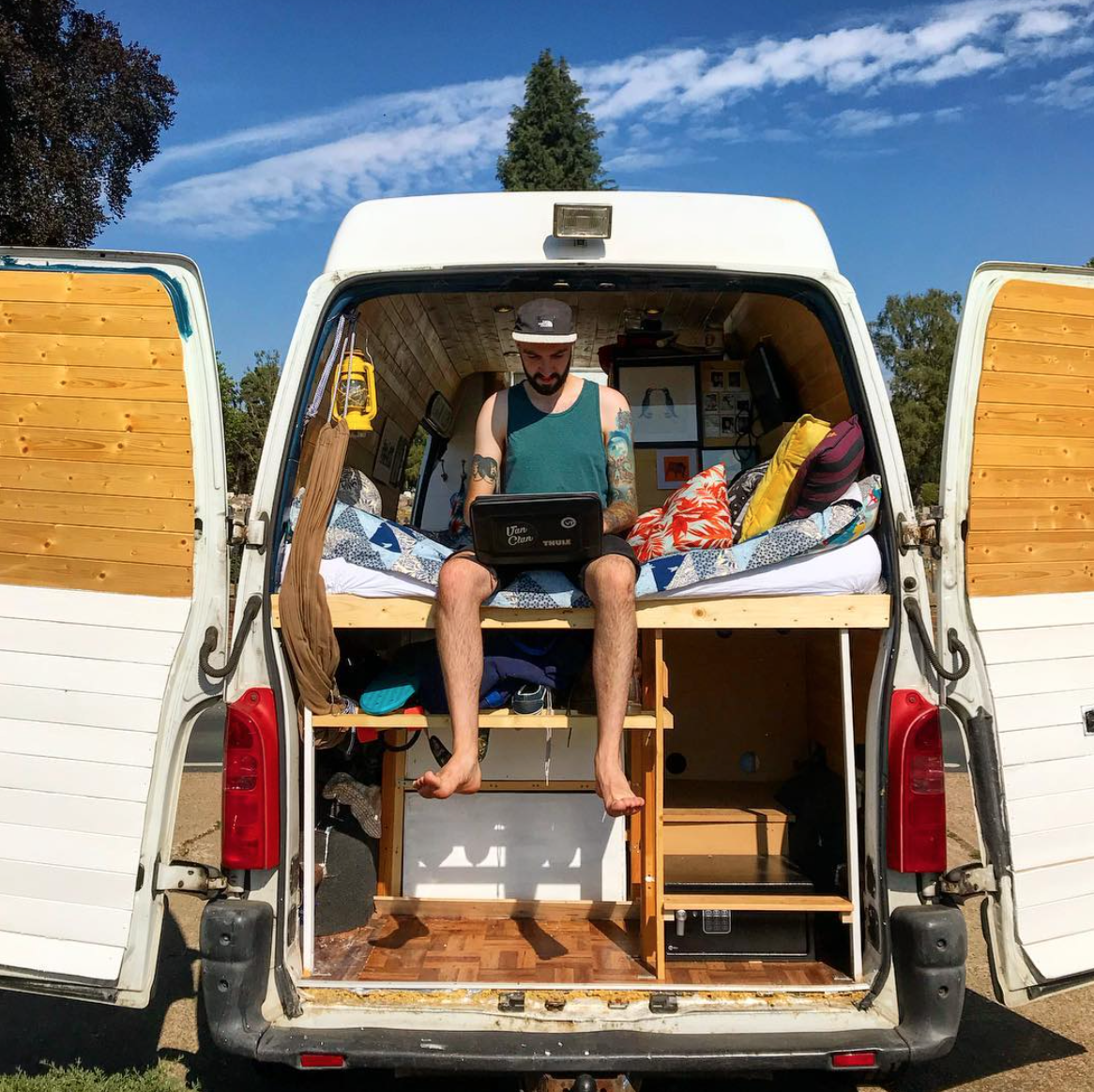 vanlife tips -gadgets