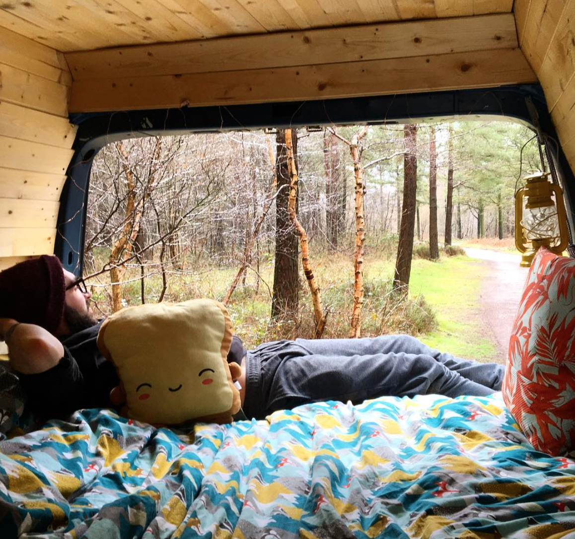 vanlife tips - relax