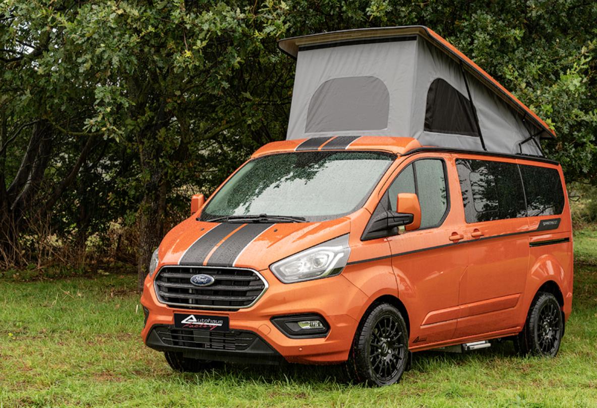 The Custom Ford Transit Campervan Built For Weekend Warriors