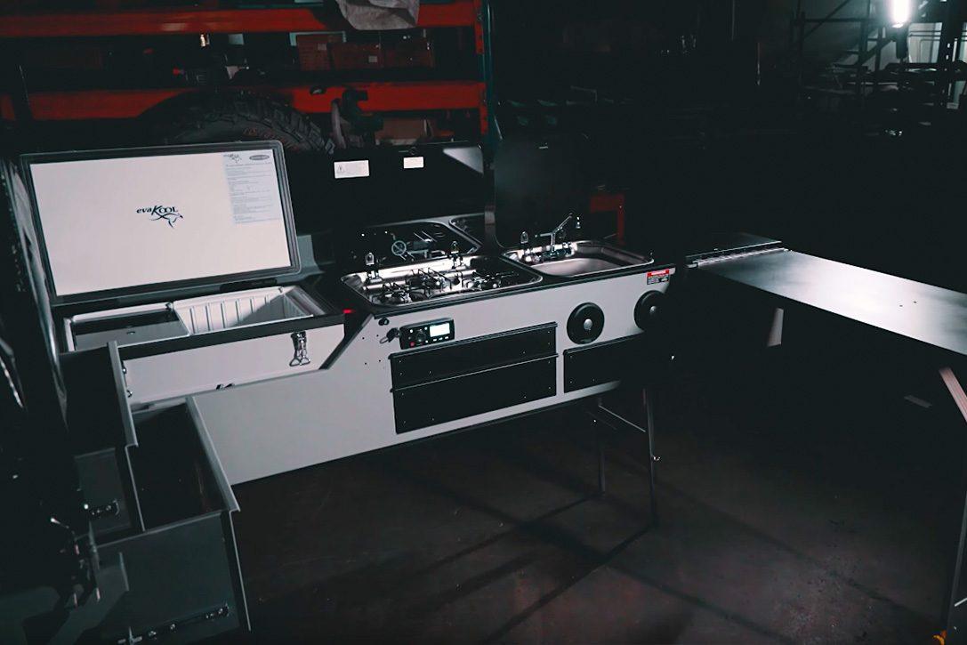 trackabout trailer - kitchen