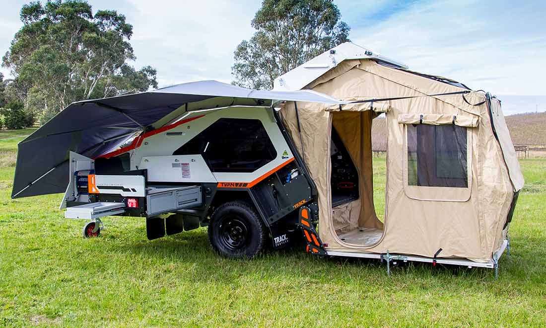 Off road trailer - tent