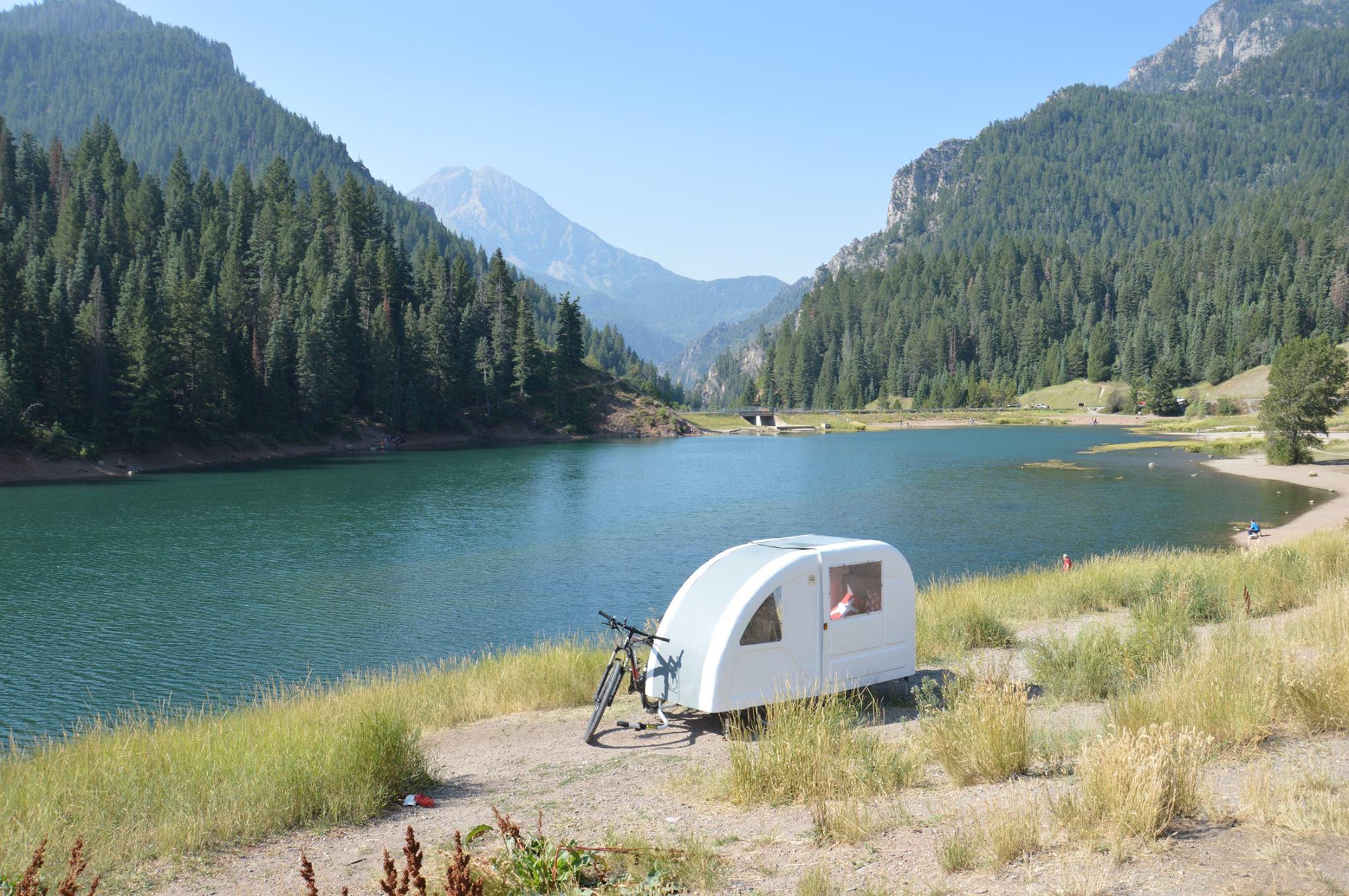 bicycle camper - off grid home