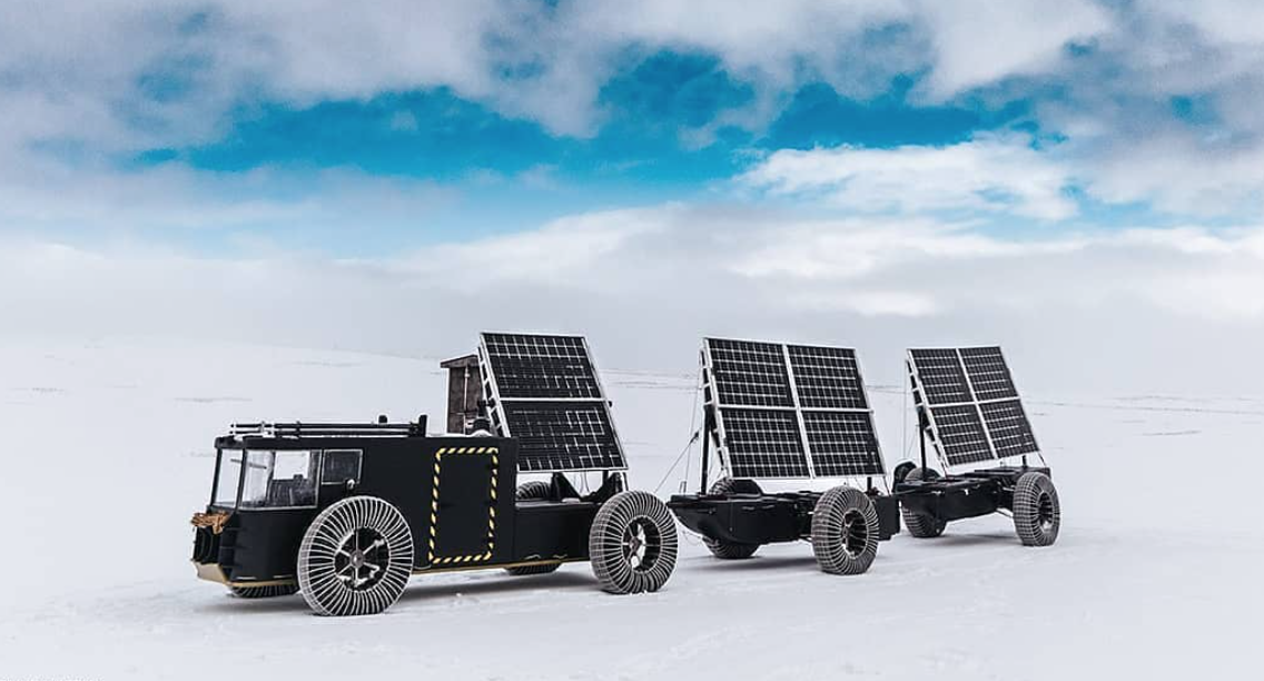 Living the van life - solar