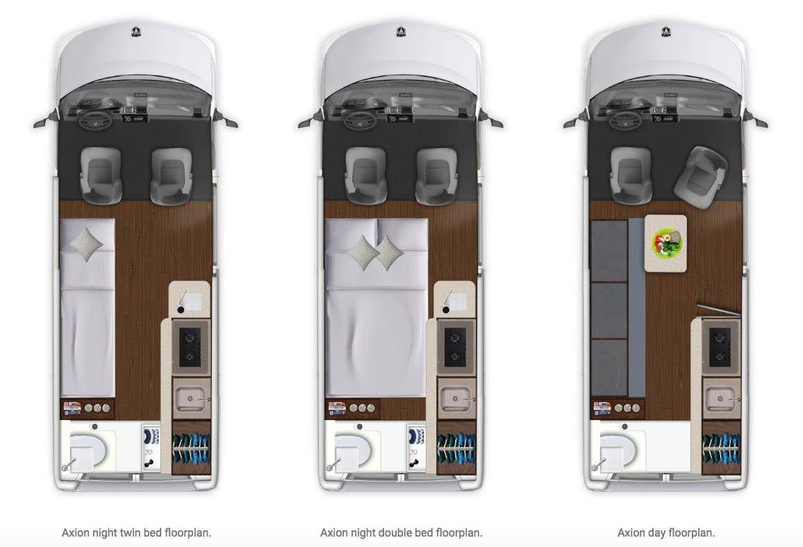 Carado Axion - floorplans