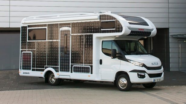 eco campervans - solar