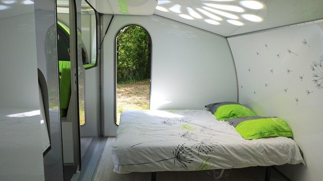 Off Grid Caravan - bedroom two