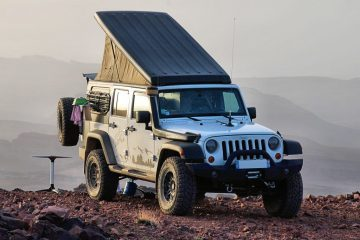 Jeep Wrangler Camper - Feature