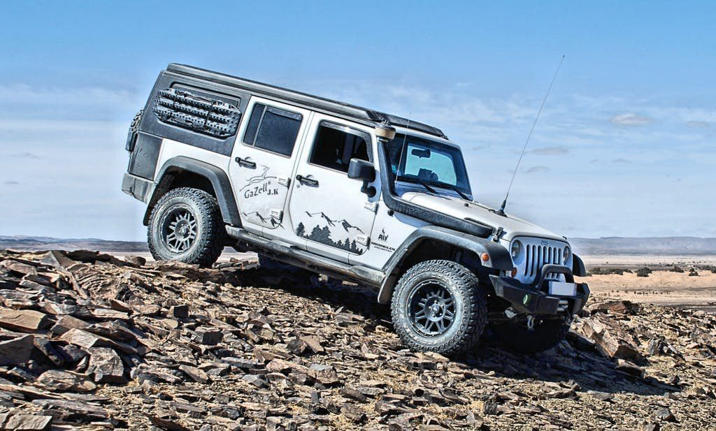 Jeep Wrangler Camper - Off Road