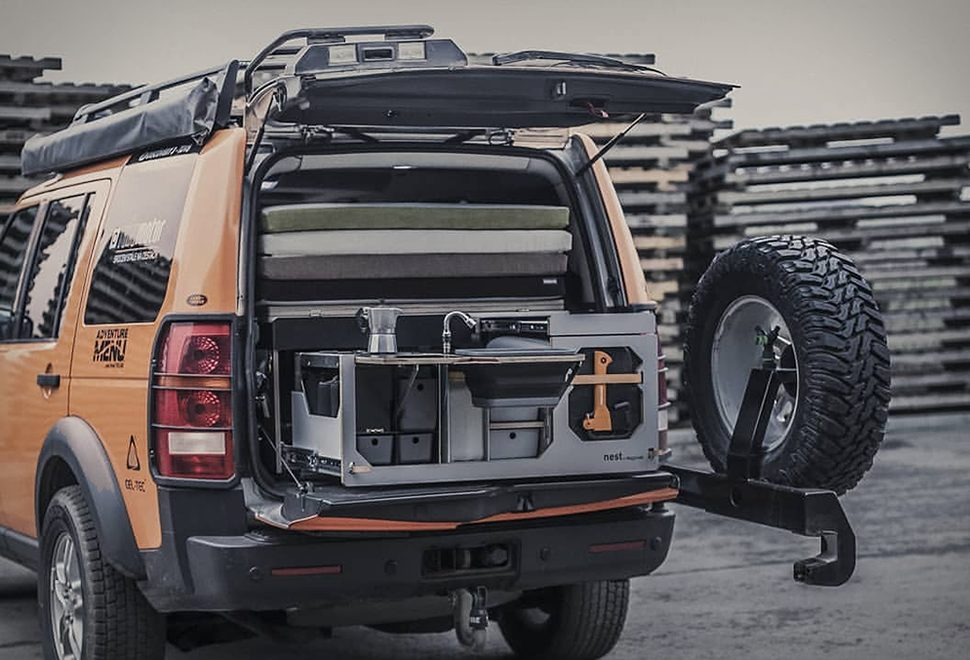 This Tiny NestBox Will Convert Your Car Into A Functioning Camper