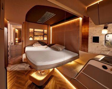 Luxury Trailer - bed