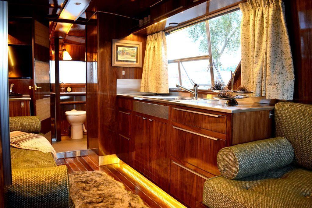 Vintage camper - inside