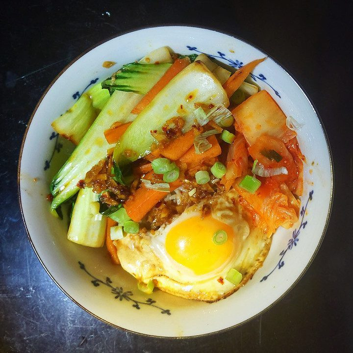 vanlife recipes - donburi