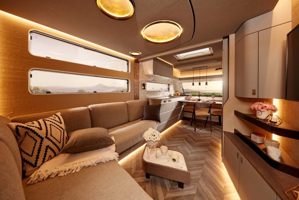 Luxury Trailer - Living room