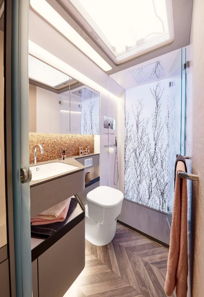 Luxury Trailer - Bathroom