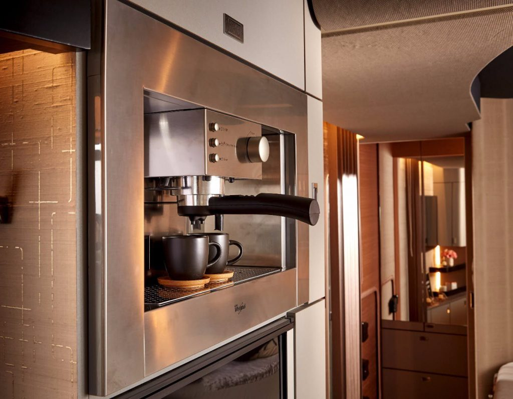 Luxury Trailer - Espresso machine
