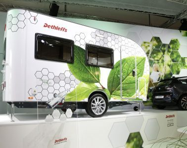 Electric Camper - outside