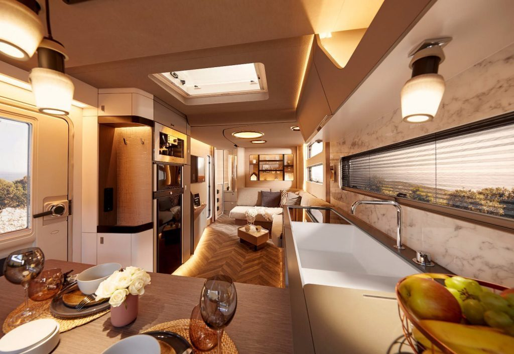 Luxury Trailer - Whole space