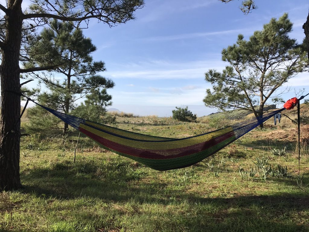 travel hammock - relax