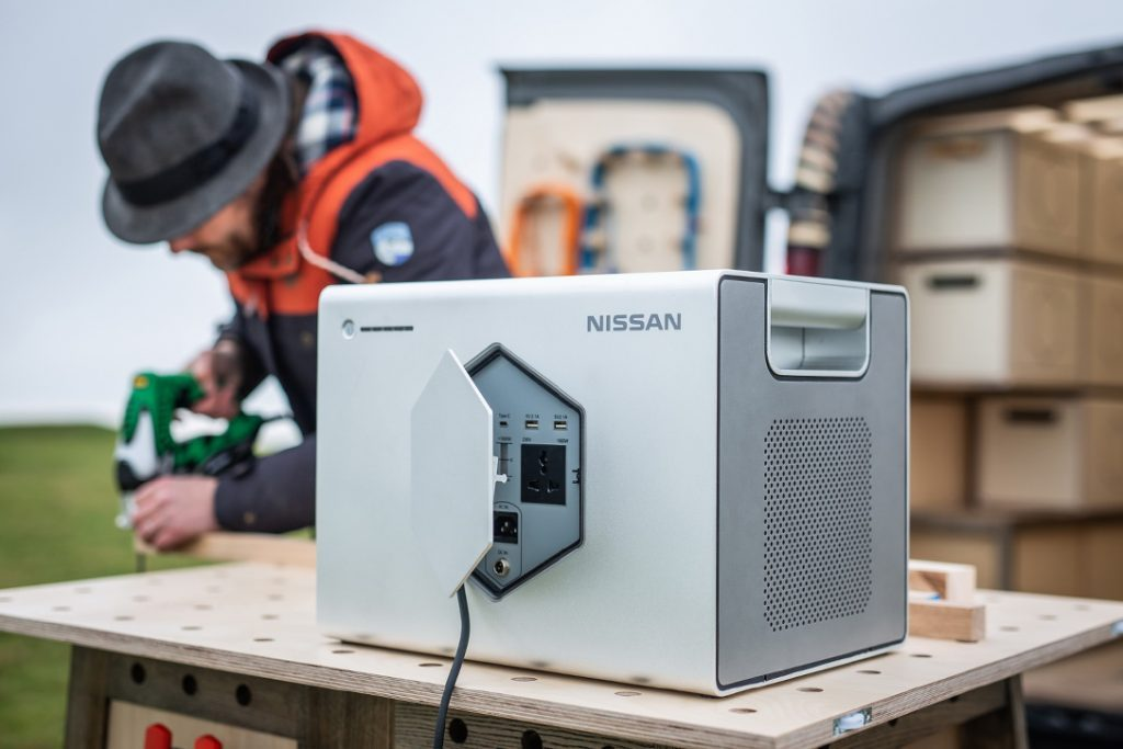 Nissan Camper - generator