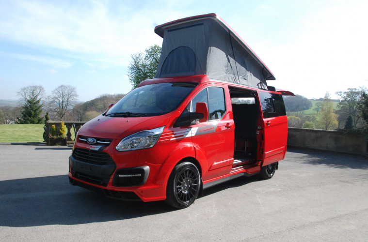 ford campers - sporty