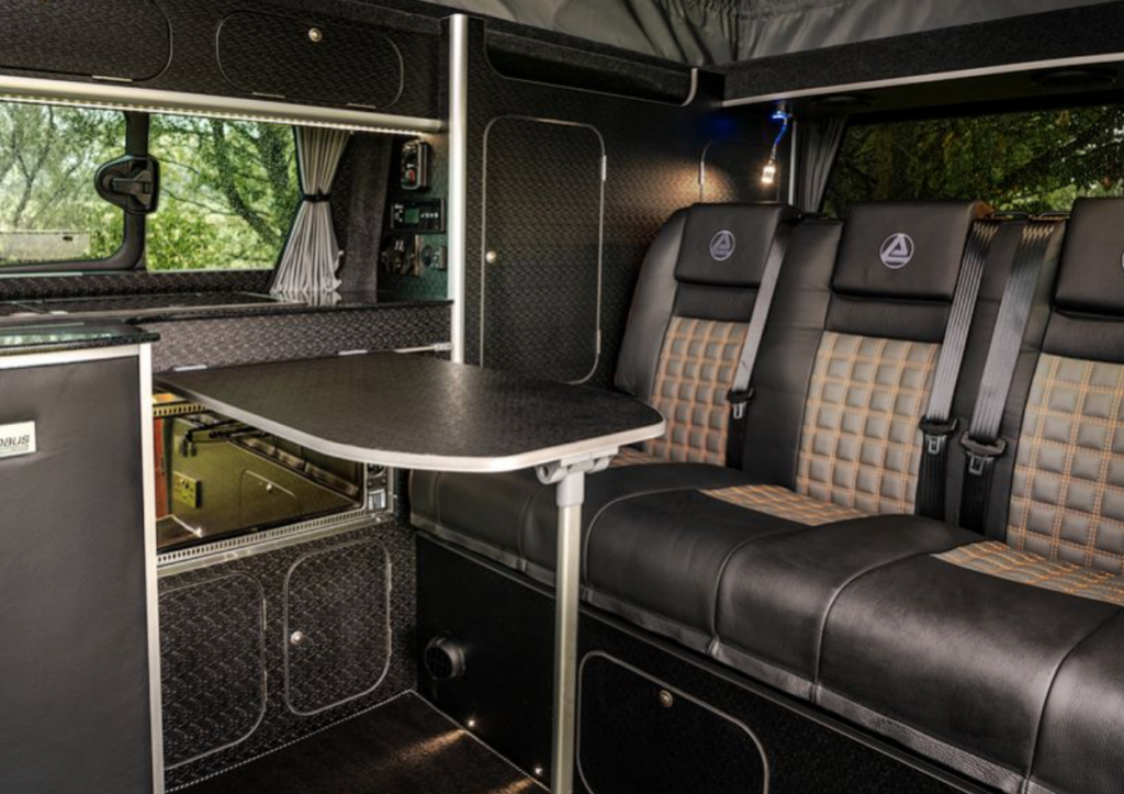 ford campers - spartan inside
