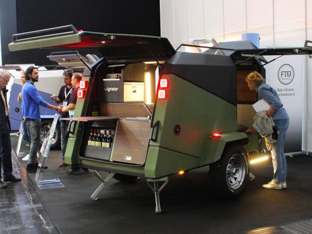 off road camper trailer - show
