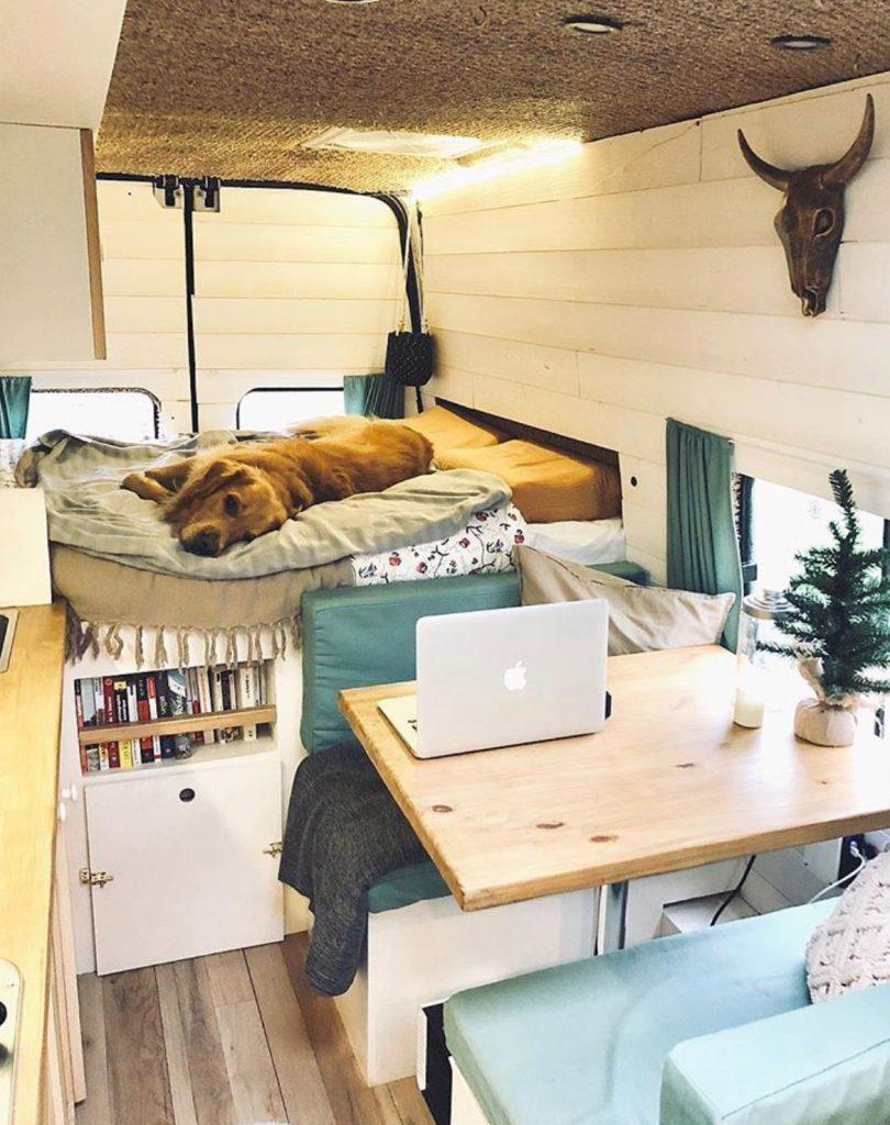 van life ideas - table