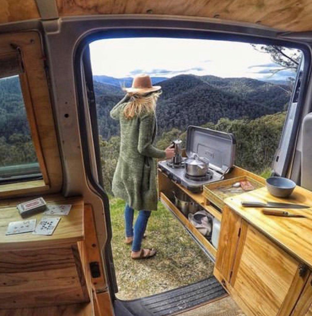 van life ideas - kitchen