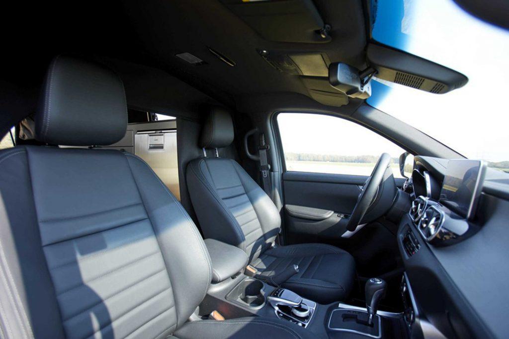 Mercedes Benz X Class - seats