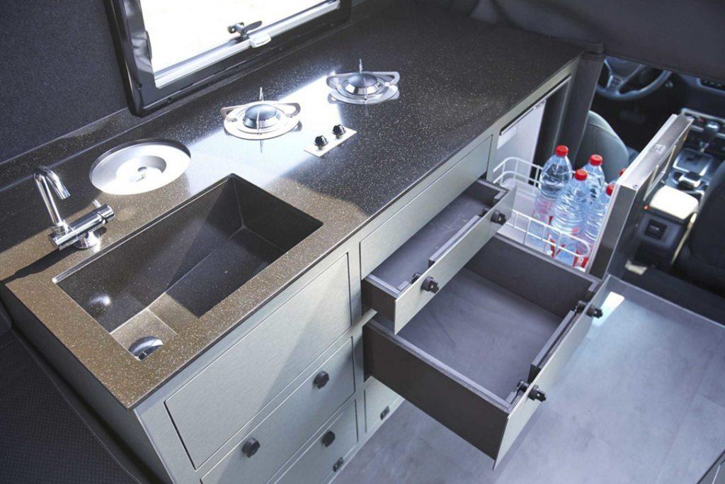 Mercedes Benz X Class - kitchen