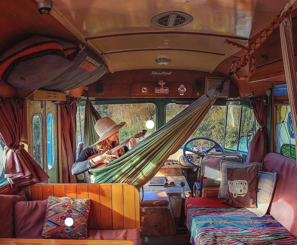 van life ideas - 2. hammock
