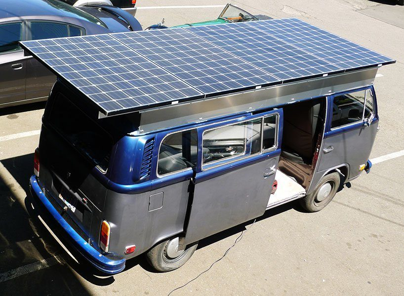 eco campervans - vw solar