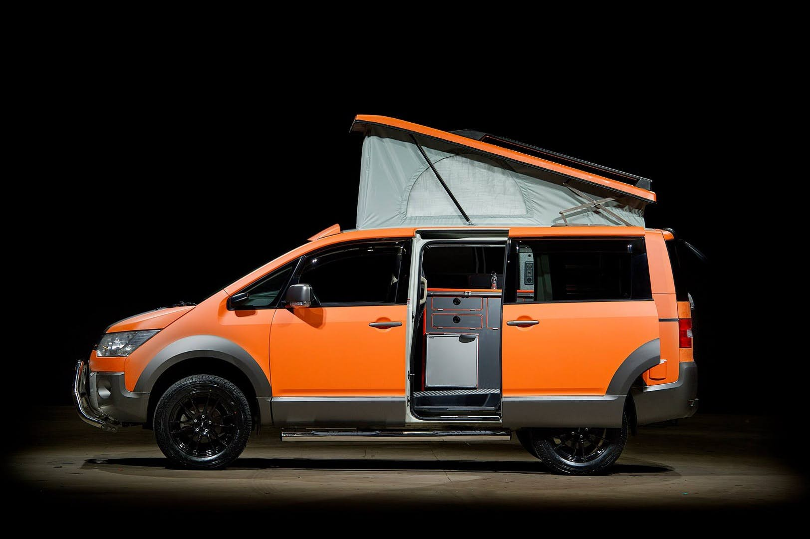 This Mitsubishi Delica 4x4 Camper Conversion Is A Thing Of Beauty