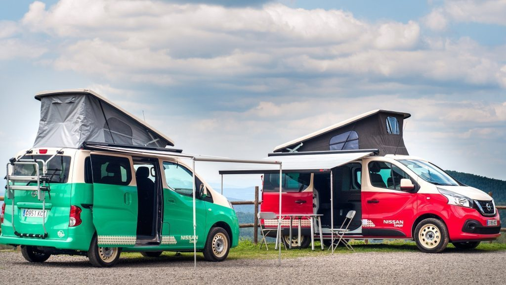 eco campervans - nissan