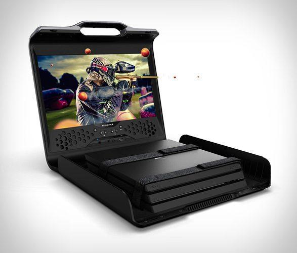 sentinel portable gaming station - gameplay
